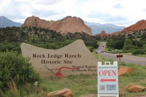 Rock Ledge Ranch entrance